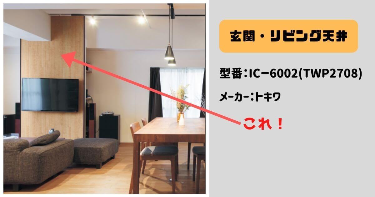 【一条クロス】玄関・リビング天井